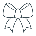 bow, bowknot, decoration icon