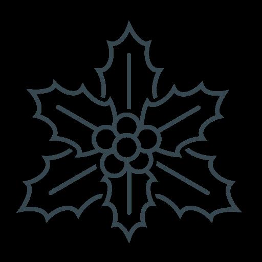 bush, christmas, decoration, holly, xmas icon