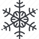 christmas, flake, pattern, snow, snowflake, winter icon