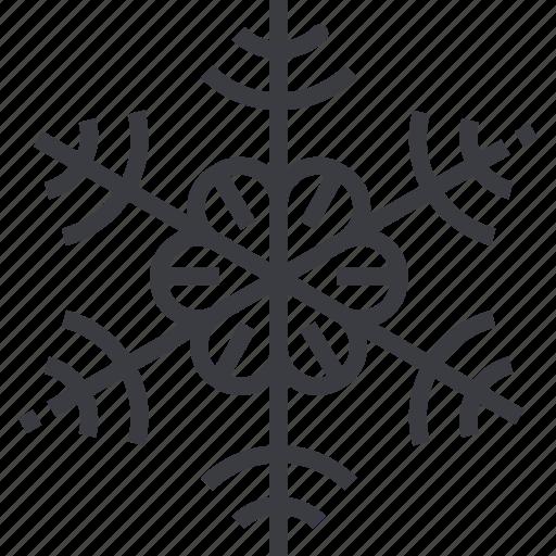 christmas, flake, pattern, snow, snowflake, winter icon