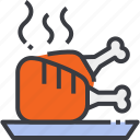 barbecue, beef, food, grill, grilled, meat, steak icon