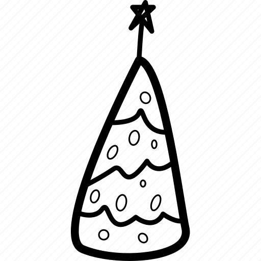 christmas, new years, ornament, tree icon