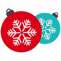 christmas, decoration icon