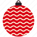 bauble, christmas, decoration, xmas icon