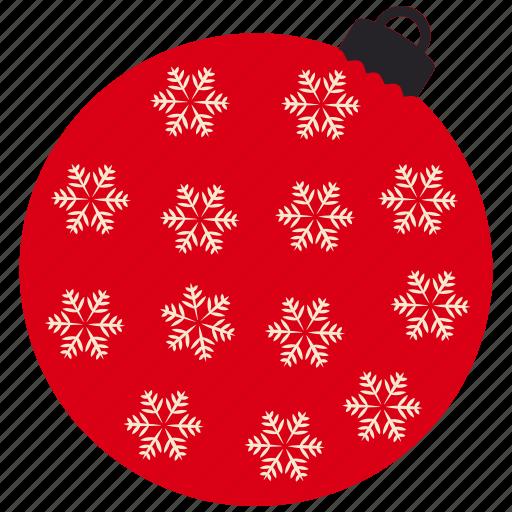 balls, christmas, new year, winter icon