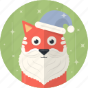 cat, celebration, christmas, hat, holiday, santa, xmas icon