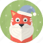 cat, celebration, christmas, hat, holiday, santa, xmas icon
