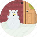 cat, celebration, christmas, snow, snowflake, snowman, xmas icon