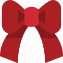 bow, ribbon icon
