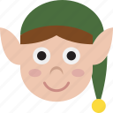 elf, face, head icon