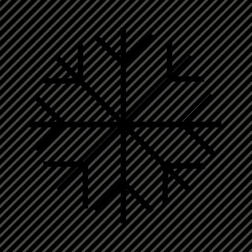cold, powder snow, sleet, snowflake, xmas icon