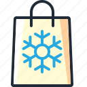 bag, christmas, presents, purchase, shop, shopping, xmas icon
