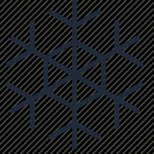 christmas, cold, freeze, snow, snowflake, winter, xmas icon