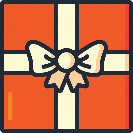 birthday, christmas, gift, gifts, presents, wrap, xmas icon
