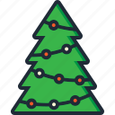 christmas, christmas tree, decoration, lights, tradition, tree, xmas icon