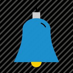 bell, christmas, christmas bell, christmas decoration, decoration icon