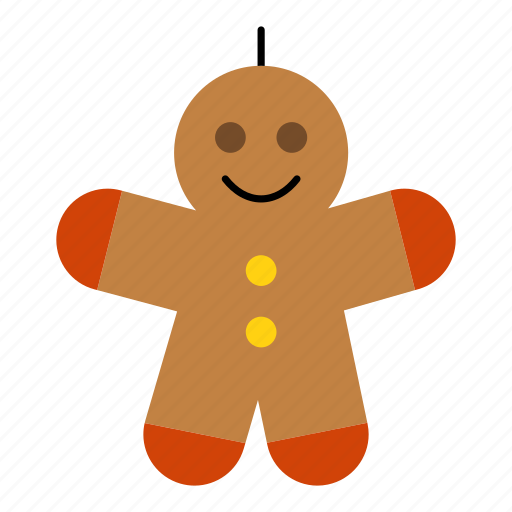 christmas, christmas decoration, decoration, gingerbread, gingerbread man, man icon