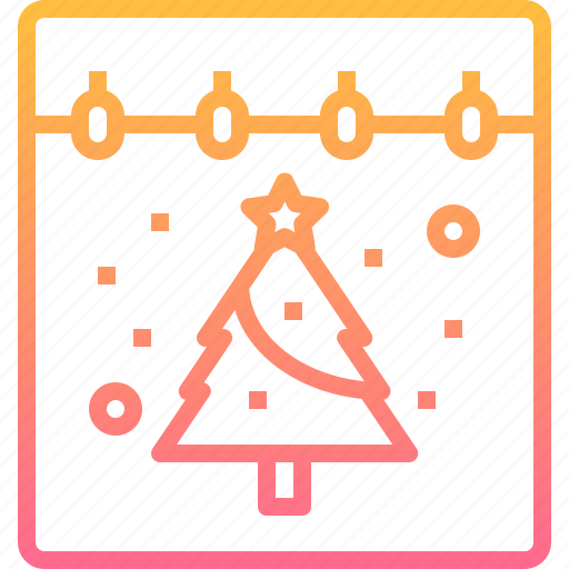 Calendar, christmas, date, day, tree icon - Download on Iconfinder