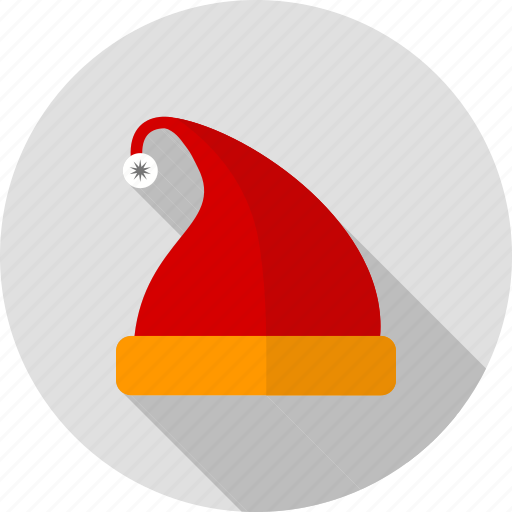 bonnet, cap, christmas, hat, santa, santa claus, xmas icon