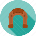 horse equipment, horse shoe, magnet, shoe, studs icon