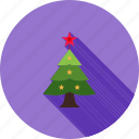 christmas, christmas tree, decorated tree, decoration, tree, xmas icon