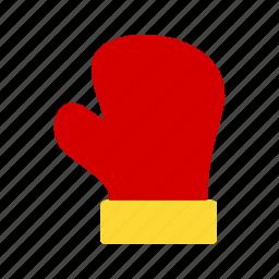 gloves, mitten, snow, sport, winter, winter gloves, xmas icon