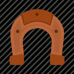 horse equipment, horse shoe, magnet, shoe, studs icon
