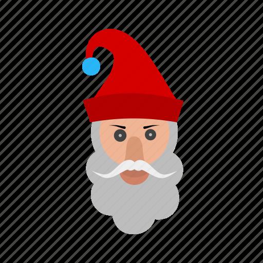 cap, christmas, elf, santa, santa claus icon