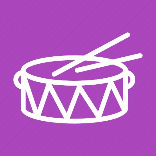 celebration, concert, drum, drums, instrument, music, sticks icon