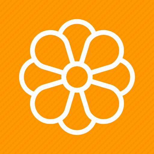 bloom, decoration, flower, leaves, petals, plant, rose icon