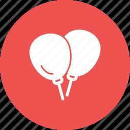 balloon, balloons, birthday, celebration, decoration, fun, party icon