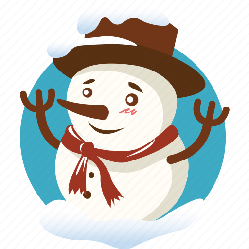 christmas, doll, snow, snowman, toy, winter, xmas icon