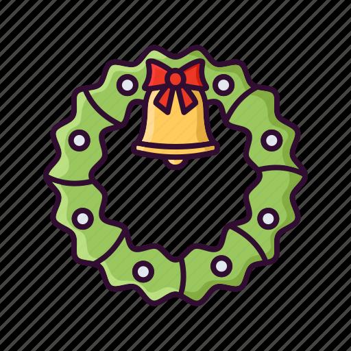 christmas, decoration, door, ornament, xmas icon