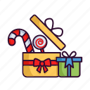 candy, christmas, gift, winter, xmas icon