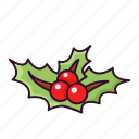 berry, cherry, christmas, fruit, winter, xmas