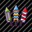 celebration, christmas, explosion, firecracker, firework, party icon