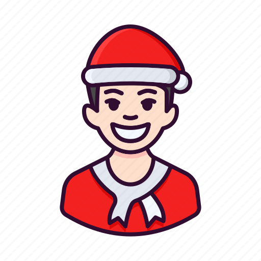 avatar, boy, christmas, male, man, xmas icon