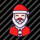 avatar, christmas, claus, santa, winter, xmas
