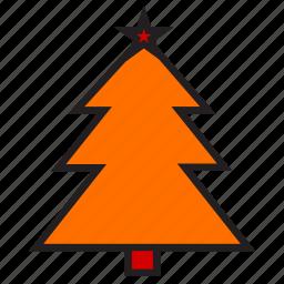 celebration, christmas, christmas tree, decoration, nature, spruce, tree icon