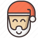 christmas, claus, holiday, santa, santa claus, snow, xmas icon