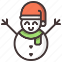 christmas, decoration, snow, snowman, xmas