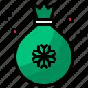 bag, christmas, winter, xmas icon
