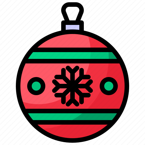 ball, christmas, winter, xmas icon