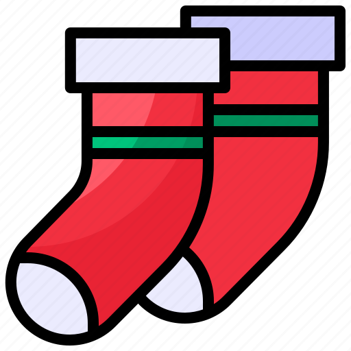 Christmas, sock, winter, xmas icon - Download on Iconfinder