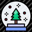 ball, christmas, crystal, xmas icon