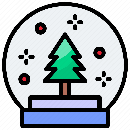 Ball, christmas, crystal, xmas icon - Download on Iconfinder