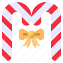 candy, cane, sweet icon