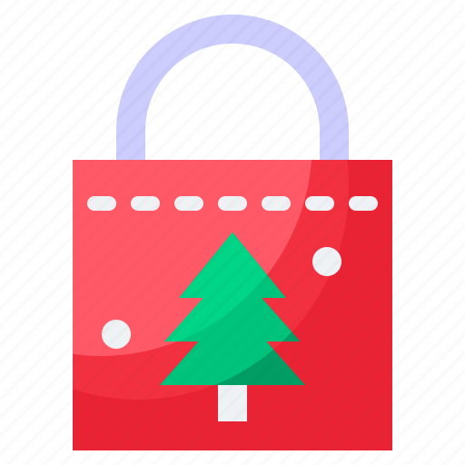 Bag, christmas, gift, shopping icon - Download on Iconfinder