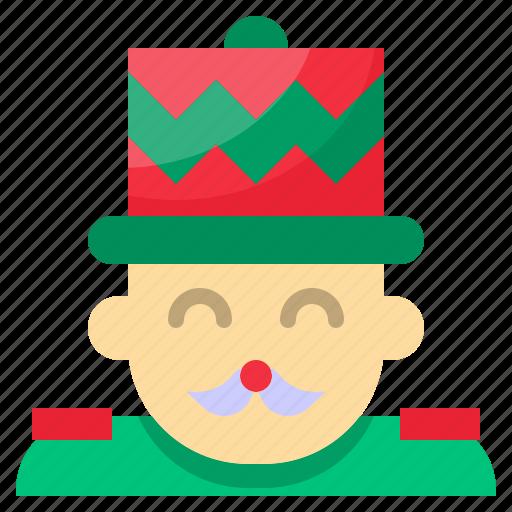 christmas, nutcracker, winter, xmas icon
