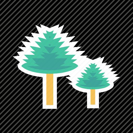 garden, nature, tree, wood icon